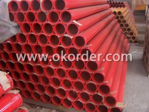Concrete Pump Delivery Pipe 1M
