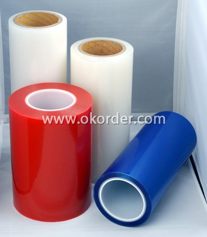 Transparent Blue PE Protective Film W60-50TB