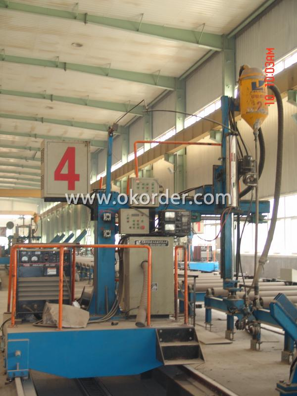 steel structure factory production