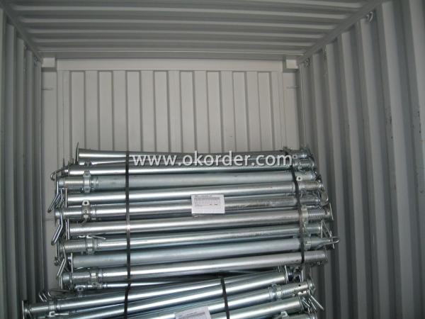 Hot Dip Galvanized Adjust U-head With Length 700mm