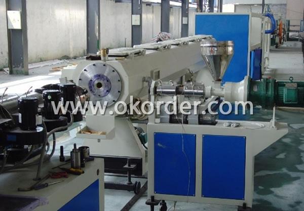 PVC Dual Pipe Production Line