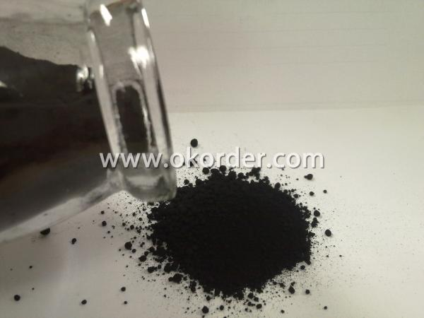 the carbon black powder
