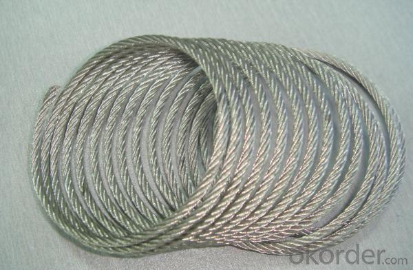 Galvanized Steel Wrie Rope