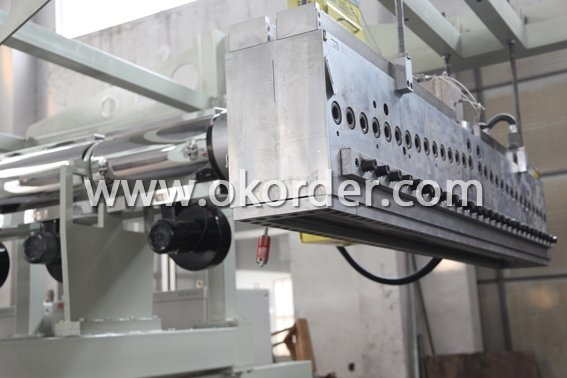 plastics machine for XPS foam board