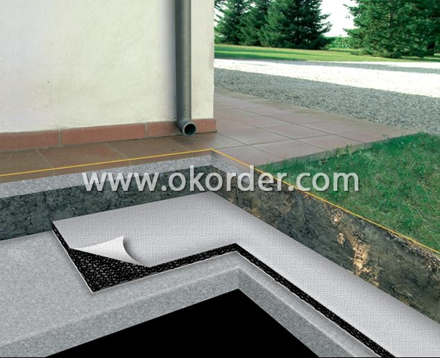 Application of Tri Dimensional Composite Drainage Geonet