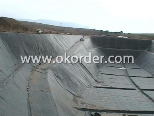 Application of PVC Geomembrane