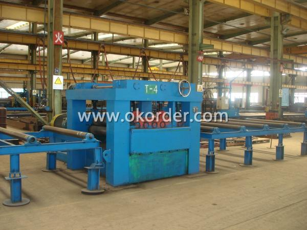 steel structure production machine