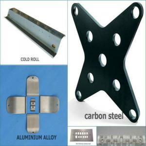 Stainless Steel Sheet Metal Fabrication with Zinc Plating