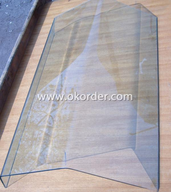 3-19mm hot-bent glass/tempered curved glass for building, projects,construction, etc.