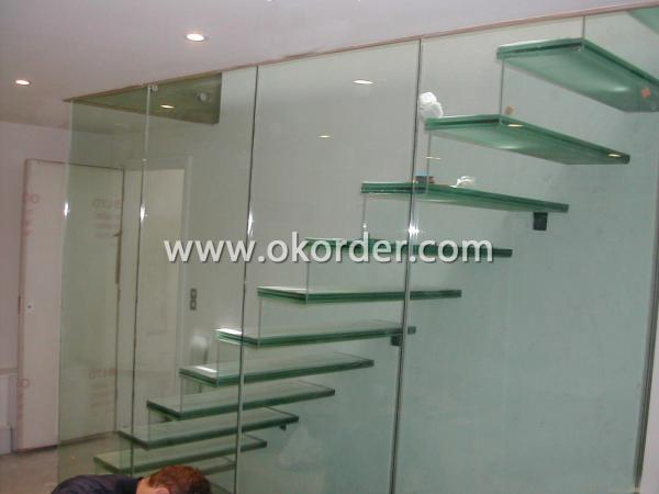 6-10mm fire-rated glass for partitions