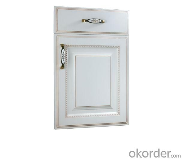PVC Vinyl Kitchen Cabinet Door NOB002