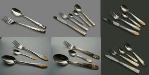 24 Pcs Stainless Steel Cutlery