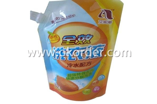 Stand Up Pouch With Spout Pouch Packaging Bag
