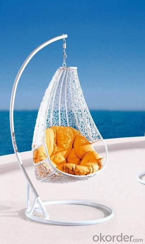 Steel Rattan Hanging Chair HC003