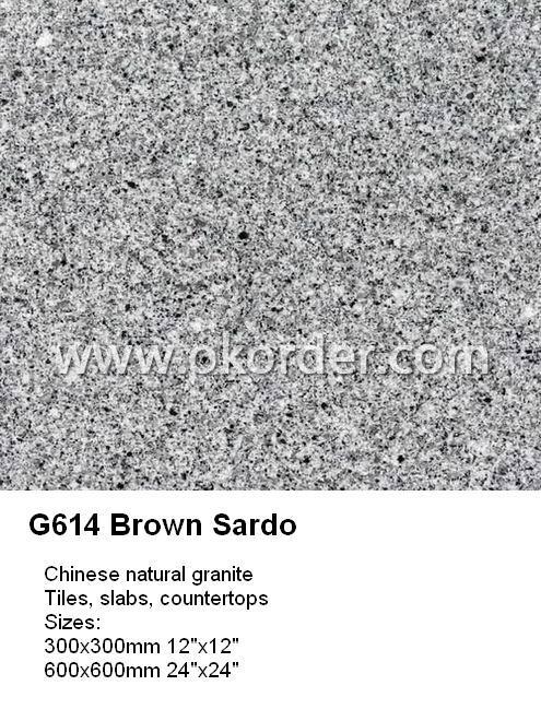 GLAZED TILE G614 Brown Sardo