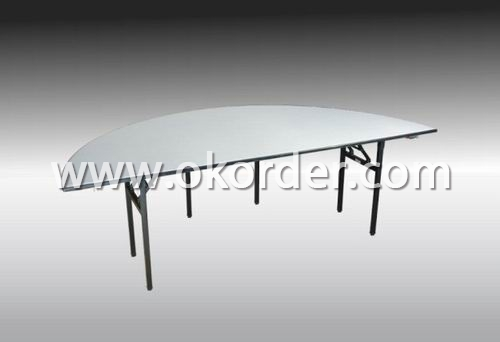 Semi-Round Banquet Table