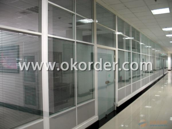 tempered insulating glass for glass partition