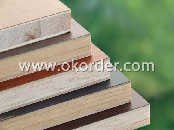 Melamine Faced blockboard