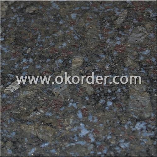 Granite Tile Butterfly Blue