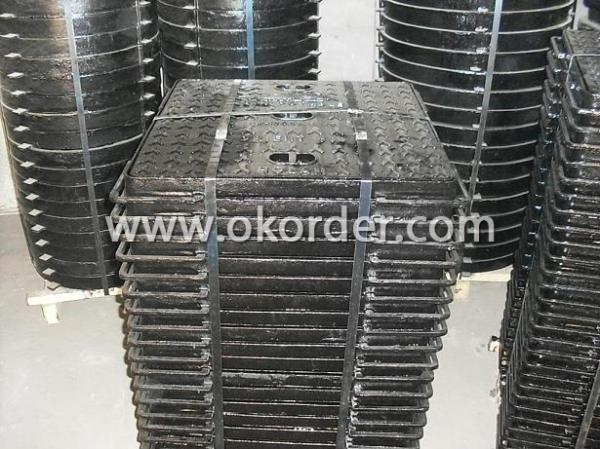 C400 Ductile Iron Manhole Cover