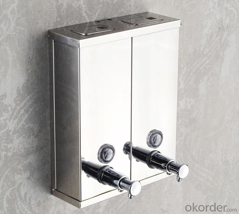 Stainless Steel Wall Mounted Liquid Soap Dispensers