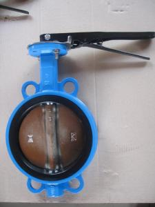 Wafer Butterfly Valve For Water, Oil, Gas