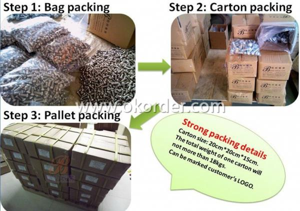 packing of wood screw