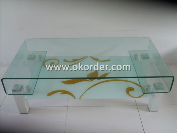 3-19mm hot-bent glass/curved tempered glass for furniture