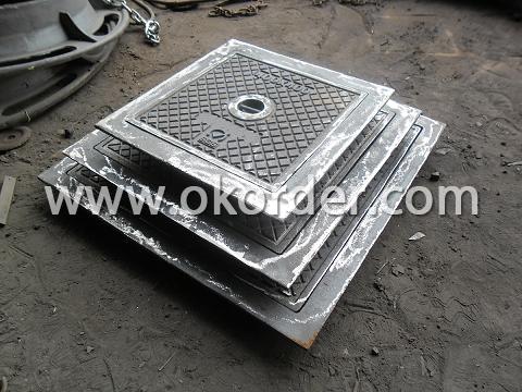 D400 Ductile Iron Manhole Cover