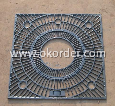 Ductile Gully Grates D400
