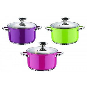 6 pcs Stainless Steel Cookware Sets