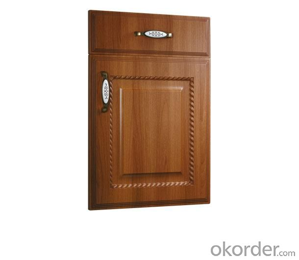 PVC Vinyl Kitchen Cabinet Door NOB001