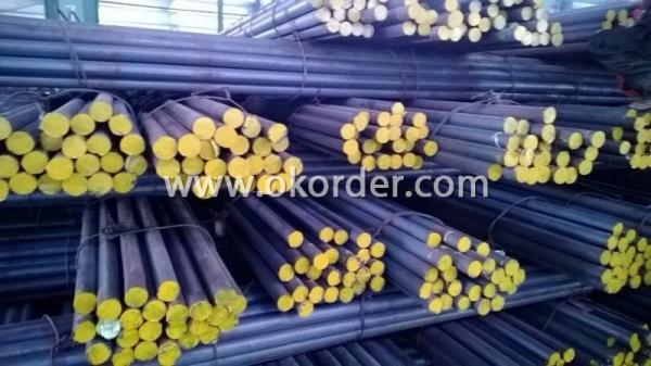 Other side of Steel Round Bar