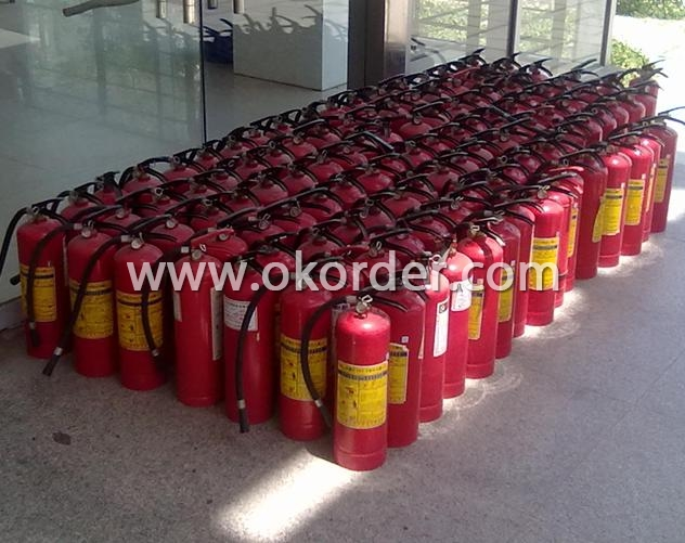 Portable Dry Powder Fire Extinguisher 5