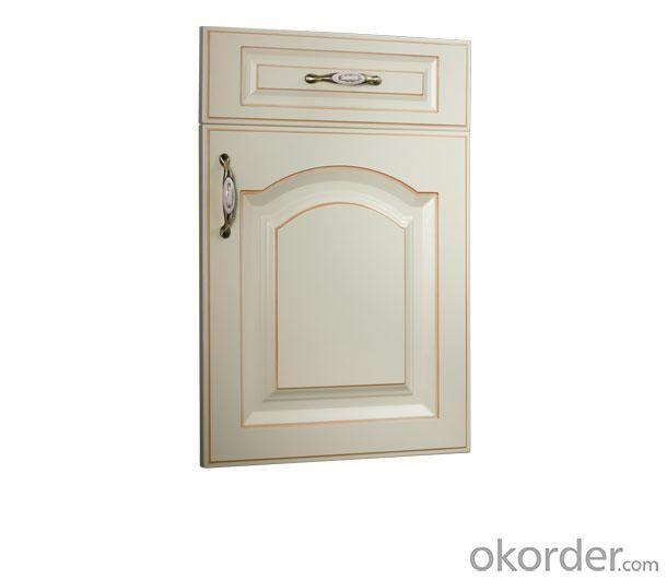 PVC Vinyl Kitchen Cabinet Door NOB002