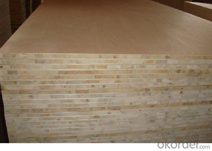 Paulownia Block Board with Melamine Face