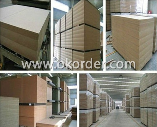 Buy double faced melamine laminated blockboard mdf