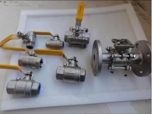 High Quality Forged Steel Full Bore High Pressure Ball Valve