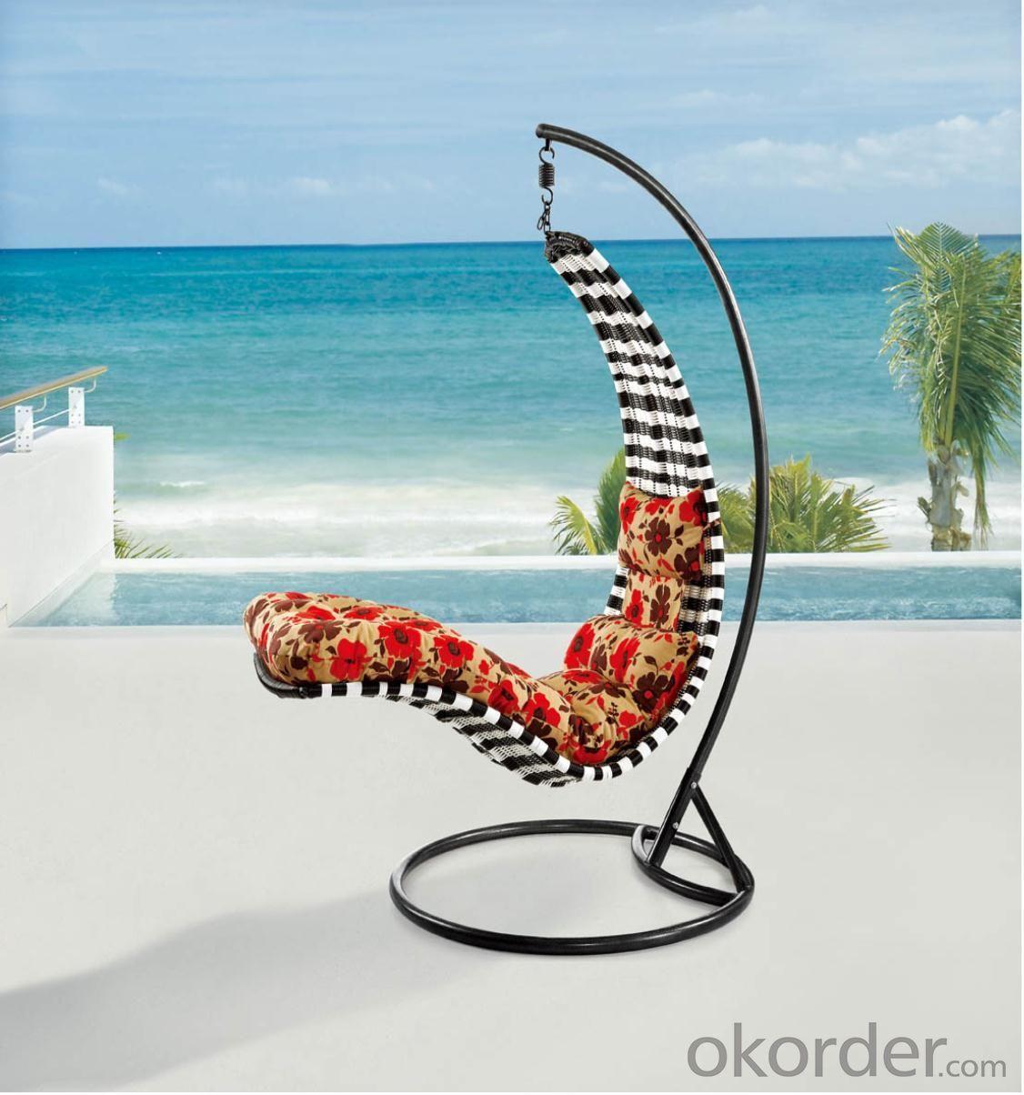 Steel Rattan Hanging Chair HC016