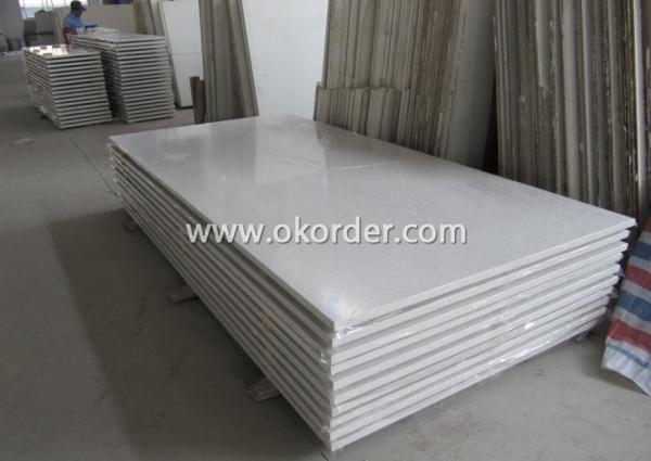 Artificial stone plate