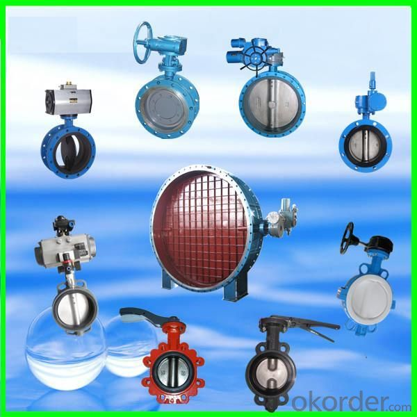 High Quality Flanged Wafer Type Butterfly Valve