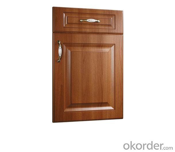 PVC Vinyl Kitchen Cabinet Door NOB001