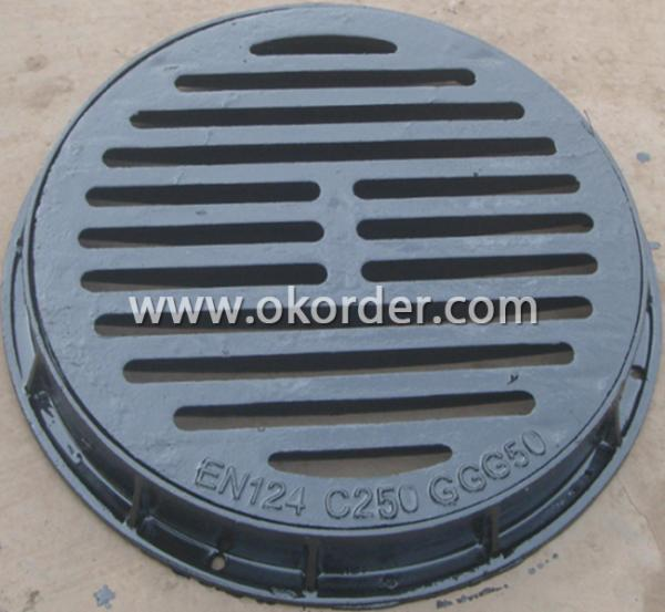 Ductile Gully Grates B125