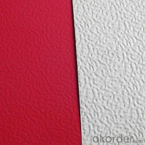 Stucco Embossed Coated Aluminium Coil 0.10-1.50mm