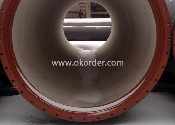 big size of Ductile Iron Pipe Mechnical Joint K Type