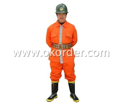 Fireman Fire Suit 1