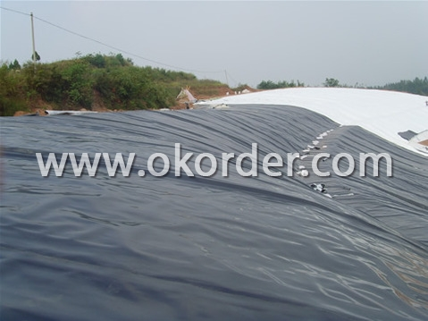 Application of LDPE Geomembrane