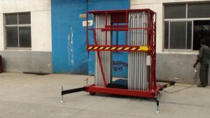 Double Mast Aluminium Aerial Work Platform