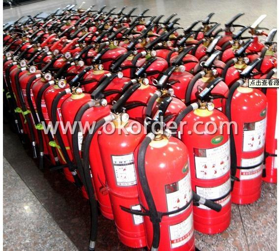 Portable Dry Powder Fire Extinguisher 4
