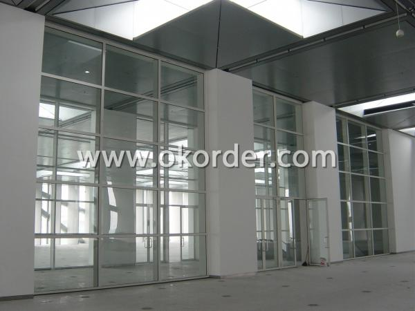 3-19mm fire-resistant glass for interior partitions